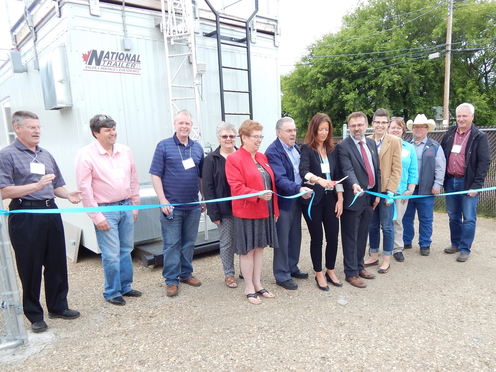 Ribbon cutting Gibbons - cropped web